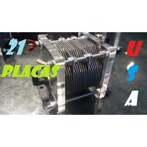 Kit Celda Seca 8 Cil 21 Placas Usa Hho Hidrogeno Ahorrador