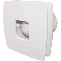 Extractor De Aire Tipo Axial De 4 Pulgs. Color Blanco Mf.
