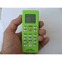 Control Remoto Aire Acondicionado Minisplit Clima 4000 En 1