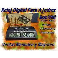 Reloj Digital Para Ajedrez Modelo Pq9902