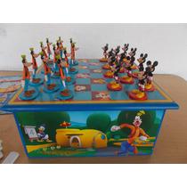 Juego De Mesa Damero Cartas Bingo Disney Mickey Mouse #694