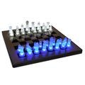 Juego De Mesa Tablero Ajedrez Led Luminoso Chess Luz