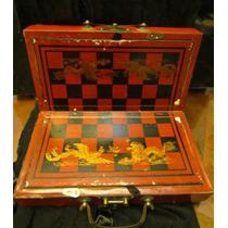 Ajedrez Caja Oriental China