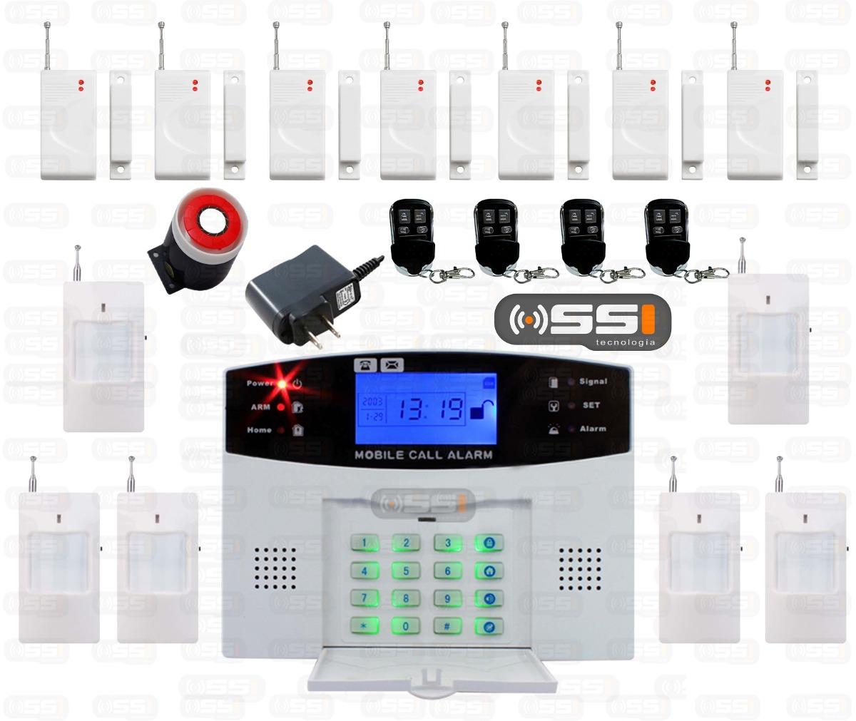 Alarma gsm inalambrica inteligente para casa negocio hm4 - Alarmas para casa precios ...