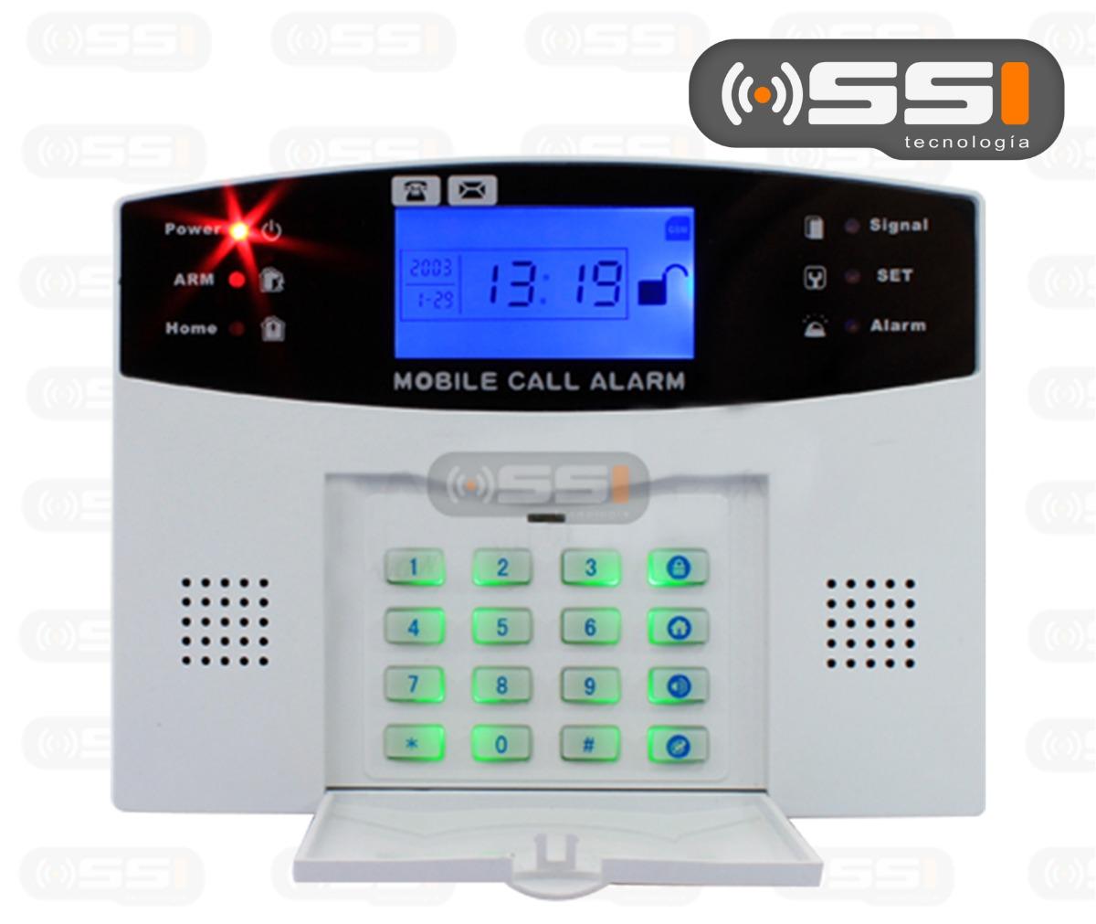 Alarma gsm inalambrica inteligente para casa negocio hm4 - Alarmas baratas para casa ...