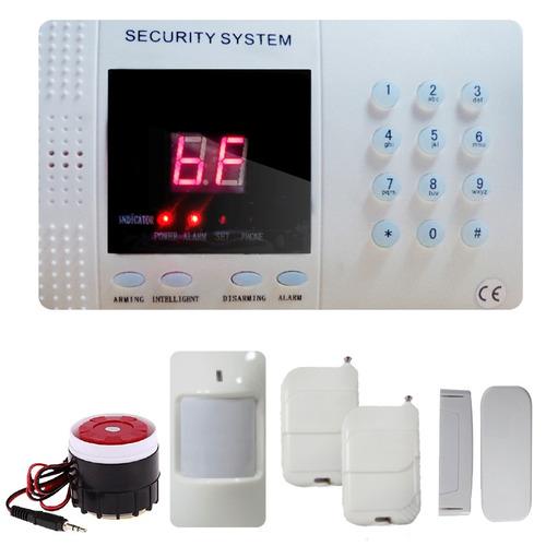 Alarma para casa negocio l nea telef nica inal mbrica for Poner linea telefonica en casa