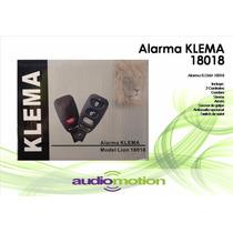 Alarma Automovil Klema 18018 3er Canal Cortacorriente Sirena