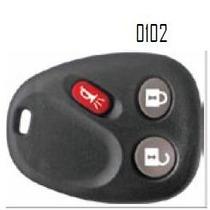 Carcasa Chevrolet Silverado Trailblazer Control Alarma