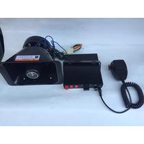 Sirena Profesional Bocina, Micrófono Y Modulo Controlador
