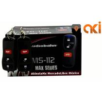 Auto Alarma Audiobahn Ms112 + Relevador Automotriz 40a / 12v