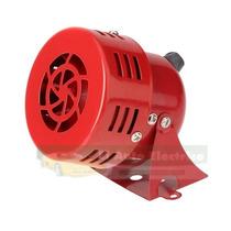 Mini Alarma Sirena Rotativa Viento Tipo Bomberos Metal Pza