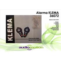 Alarma Automovil Klema 36072 3er Canal Cortacorriente Sirena