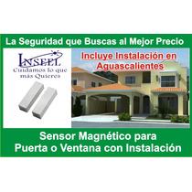 Sensor Para Alarma Puerta/ventana Cableado Instalado