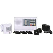 Alarma Seguridad Para 4 Zonas Con Codigo Numerico Out