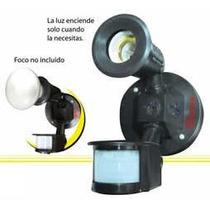 Lampara Con Sensor De Movimiento Ajuste De Luz Dia Noche Sa8