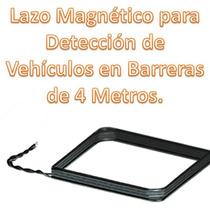 Lazo Magnético Para Detección De Vehículos En Barreras 4 Mt