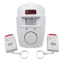 Alarma Sensor De Movimiento 2 Controles Seguridad Vigilancia