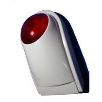 Sirena Inalámbrica Exterior Bateria Respaldo Seguridad 120db