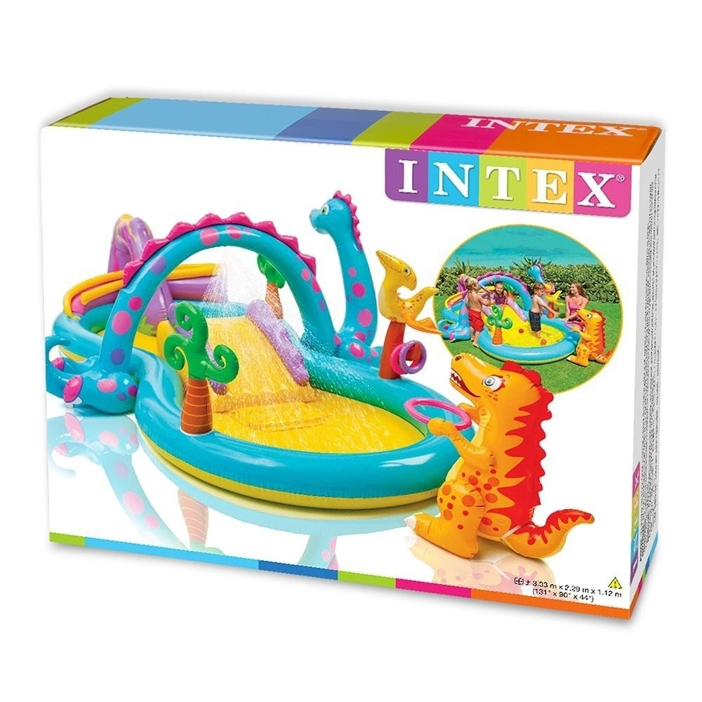 Alberca inflable chapoteadero acuatico dinosaurios intex for Albercas intex precios
