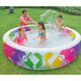 Alberca Piso Inflable Familiar 229x56cm E4f