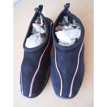 Zapatos Acuaticos Agual Alberca Nadar Talla M 9-10 #291