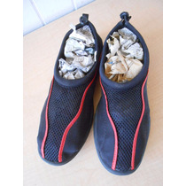 Zapatos Acuaticos Agual Alberca Nadar Talla M 9-10 #287