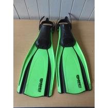 Aletas Para Nadar Buceo Marca Mares Talla L #508