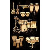 Tapete Minimalista African Adventure Drums-3