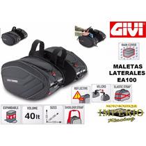 Maletas Laterales Givi Ea100 Con Bolsas Impermeables Moto