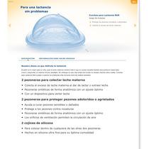 Conchas Recolectoras De Leche Materna & Proteccion Pezones