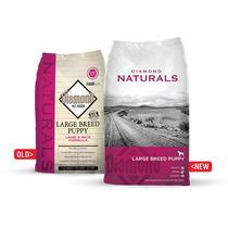 Alimento Diamond Naturals Cachorro Razas Grandes 18.14 Kg
