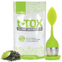 V Teatox Té De Desintoxicación De 14 Días: Pérdida De Peso L