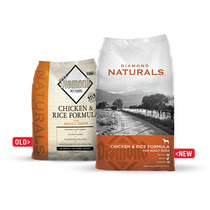 Alimento Diamond Naturals Adulto Pollo Y Arroz 18.14 Kg