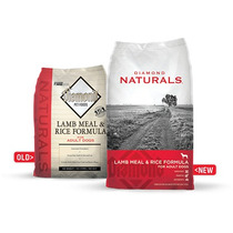 Alimento Diamond Naturals Adulto Cordero Y Arroz 18.14 Kg