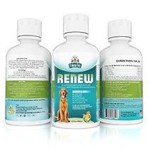 La Glucosamina Para Perros Con Condroitina Y Msm Líquido Cad