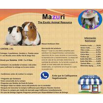 Venta De Alimento Mazuri Para Cuyos (cobayas)