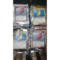 Pasta Canarios/crias Factor Rojo Y Amarillo Con Probiotico