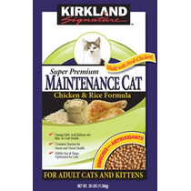 Kirkland Alimento Para Gatos, Pollo Y Arroz Super Premium