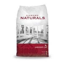 Diamond Indoor Gato Hairball Naturals - Bulto De 9.07 Kg