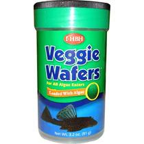 Alimento Pleco Veggie Wafer 91 Gramos Hbh