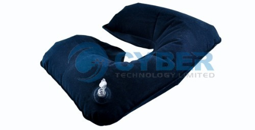 Almohada Inflable Para El Cuello. Cómoda Y Relajante