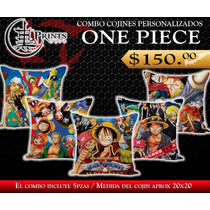 Combo Cojines Anime One Piece