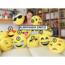 Almohada Emoticon Emoji Carita Kawaii Moda Japon Corea