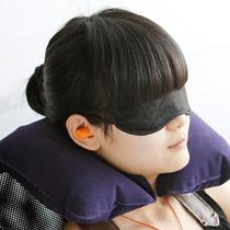 Almohada Inflable, Antifaz Y Tapón Oídos Kit 3 En 1. Webtec