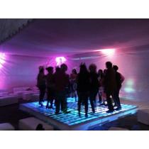 Renta De Pista Iluminada Cristal Karaoke Con Dj Salas Lounge