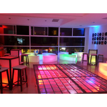 Salas Lounge Iluminadas A Control Remoto, Djs, Pista