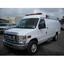 Ambulancias Tipo 2 2015 Turbo Disel 6.0 Lts E350 Xlt