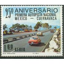 Sc C544 Año 1977 Autopista Nacional Mexico Cuernavaca