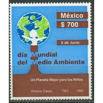 Sc 1651 Año 1990 Dia Mundial Del Medio Ambiente