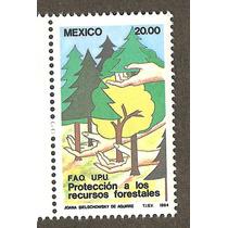 Estampillas 1984, Ptroteccion Forestal Onu